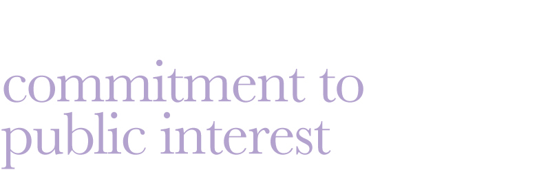 essay on commitment to public interest Exclusively, interests of public duty versus private interests this refers to a   activities that appear to present potential conflicts of interest or commitment and.