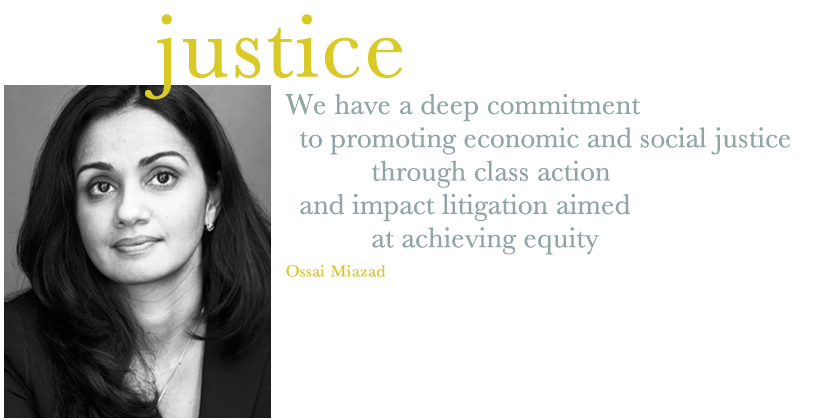 Ossai Miazad - Class Action Employment Attorney New York