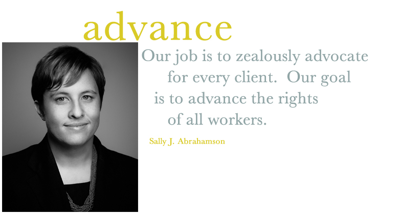 SALLY ABRAHAMSON - LGBTQ discrimination and Class Action Employment Lawyer